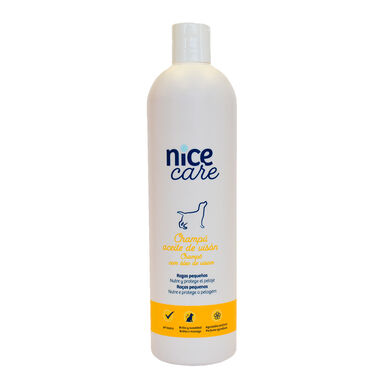 Champô Nice Care para cães de pequeno porte vários formatos
