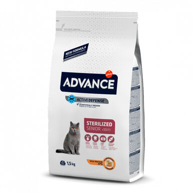 Affinity Advance Feline Sterilized +10 pollo y cebada 1,5kg