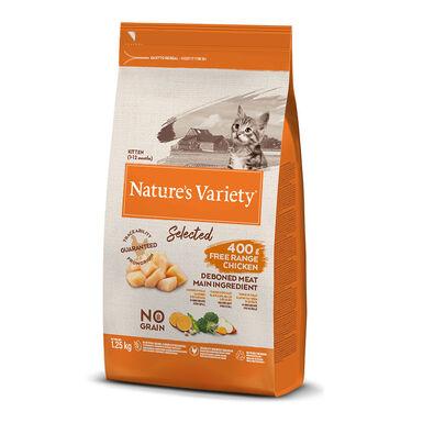 Nature's Variety Selected con pollo para gatito