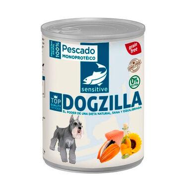 Dogzilla comida húmida para cão em lata peixe 750 gr
