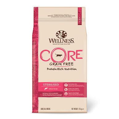 Wellness Core Feline Sterilised salmón - 2x1,75 kg Pack Ahorro