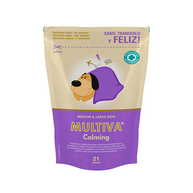Calmante natural para gatos e cães Multiva Calming