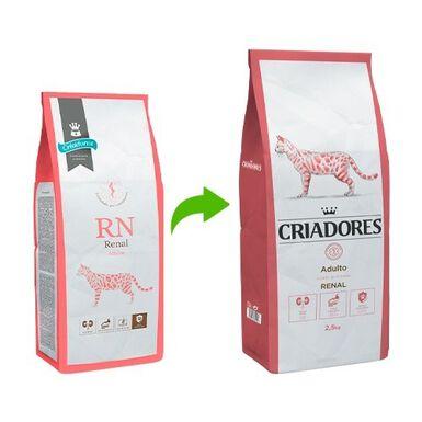 Criadores Dietetic Renal ração gatos saúde renal 2,5kg