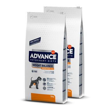 Affinity Advance veterinary Diets Weight Balance - 2x12 kg Pack Poupança