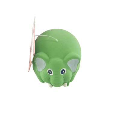 Juguete Play&Bite Round Animal Verde para perro