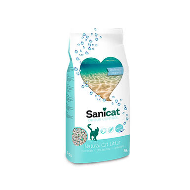 Areia Sanicat Odour Control Sea Breeze