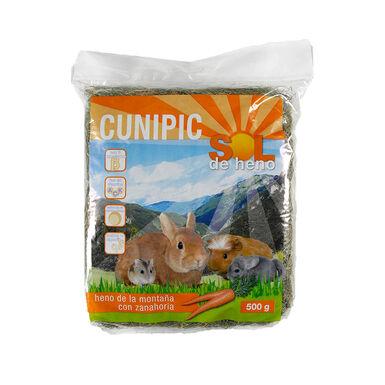Feno de cenoura para roedores da Cunipic 500 g