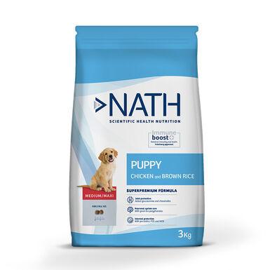 Nath Medium/Maxi Puppy Ração para Cão