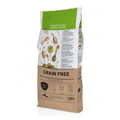 Natura Diet Grain Free Adult receita Natural frango 3 kg