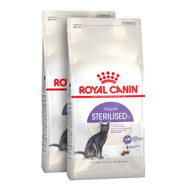 Royal Canin Feline Sterilised 37 - 2x10 kg Pack Poupança