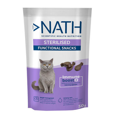 Nath Adult Sterilised 50 gr Sanck para Gato