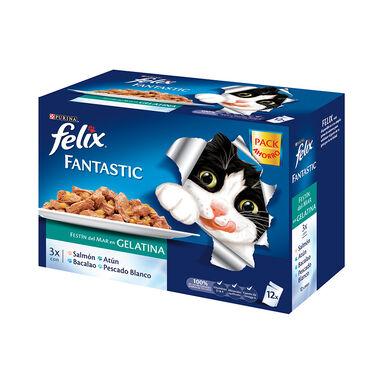 Felix Fantastic Multipack Festim do Mar formato 12x100 g