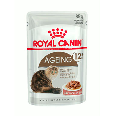 Pack 12 saquetas Royal Canin Feline Ageing 85 gr