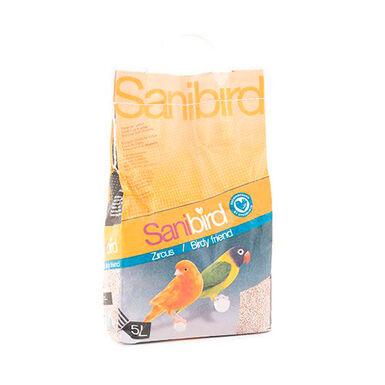 Areia Absorvente Sanibird Zircus para pássaro