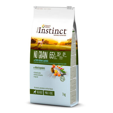 True Instinct No Grain Mini Adult Salmón y Patata