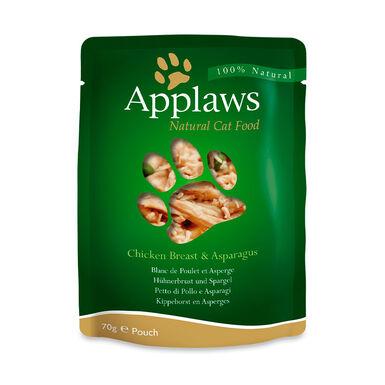 Pack 12 Saquetas Pouch de Applaws para gato 70 gr