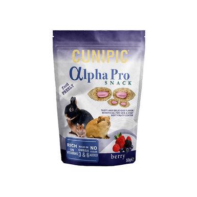 Snack Alpha Pro de Cunipic Frutas del Bosque para conejos y roedores