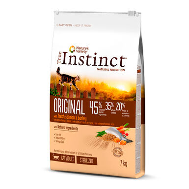True Instinct Original Feline Adult Sterilized salmão