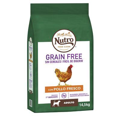Nutro Grain Free adulto raças de porte mediano sabor frango