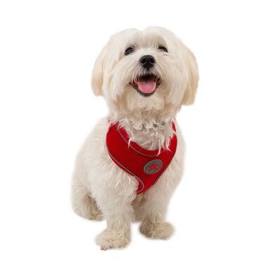 TK-Pet Soft rojo de alta visibilidad arnés perros