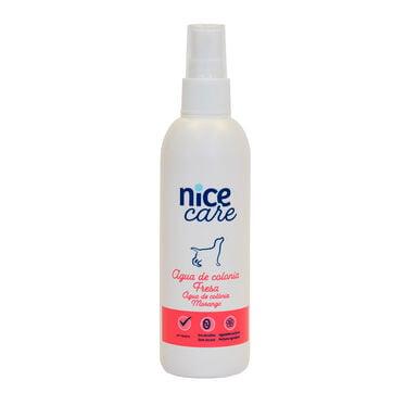 Água de Colónia Nice Care cheiro Morango para cães 125 ml