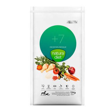 Natura Diet + 7 alimento para cão sénior 12 kg