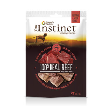 Snacks True Instinct Real Buey Tasty Cubes 50g