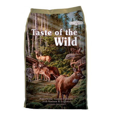 Taste of the Wild Pine Forest venado 12,2 kg