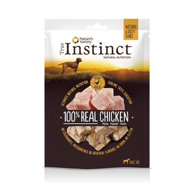 Snacks True Instinct Real Pollo Tasty Cubes 50g