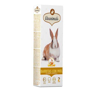 Vivanimals barritas con miel para conejos