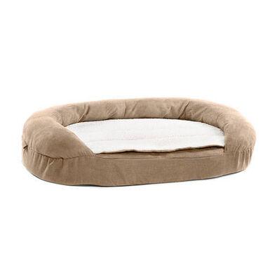 TK-Pet cama ortopédica ovalada color marrón perros