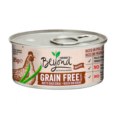 Pack 12 Latas para gatos Beyond Grain Free 85 gr