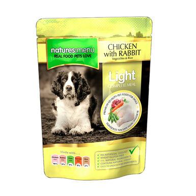 Pack 8 Saquetas Nature's Menu saqueta comida húmida para cão