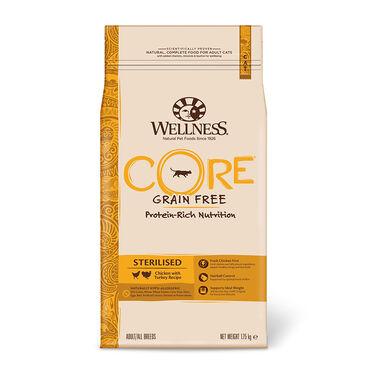 Wellness Core Feline Sterilised frango e peru