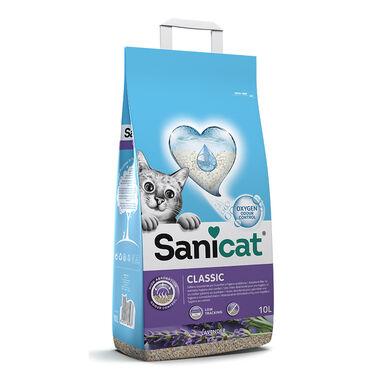 Areia absorvente Sanicat Plus 10 litros