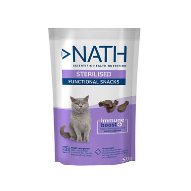 Nath Adult Sterilised 50 gr Sanck para Gato