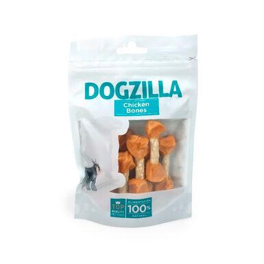 Dogzilla Chicken Bones 100g Snack para Cão