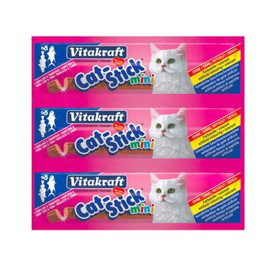Mini Snack Bacalhau e Atum para Gatos Vitakraft