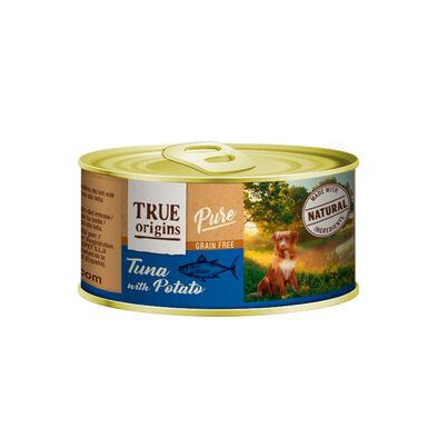 Pack 12 Latas True Origins Pure Cão 185 g