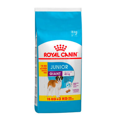 Royal Canin Giant Junior 18 kg (15 kg + 3 kg gratis)