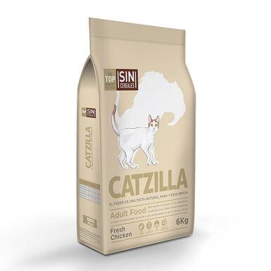 Catzilla Grain Free Fresh Frango - 2x6 kg Pack Poupança