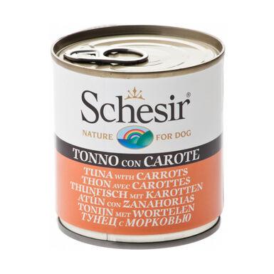 Lata Schesir 285 gr comida húmida para cão