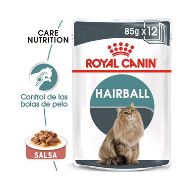 SAQUETAS ROYAL CANIN FELINE HAIRBALL CARE 85 GR