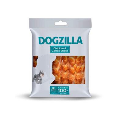 Dogzilla Sticks Frango e Cenoura 100gr Snack para Cão