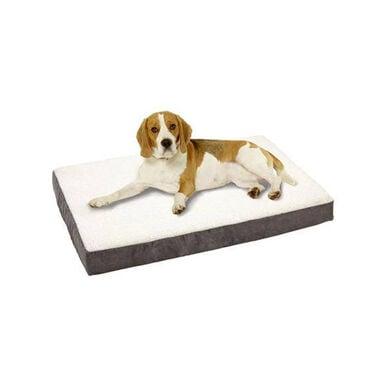 TK-Pet colchão ortopédico cinzento para cães