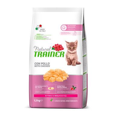 Pienso para gatitos Natural Trainer Kitten 1.5 kg