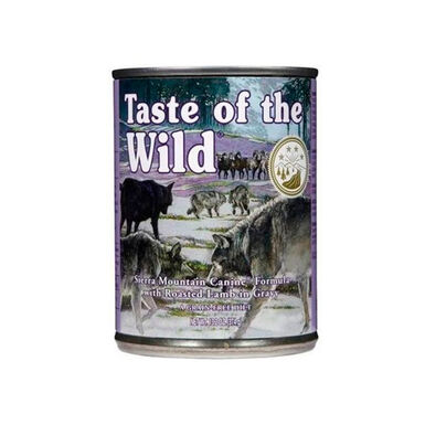 Lata Taste of the Wild Sierra Mountain 390 gr para cães