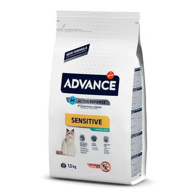 Affinity Advance Feline Sterilized Sensitive salmão e cevada - 2x10 kg Pack Poupança