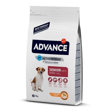 Affinity Advance Mini Senior +8 frango e arroz