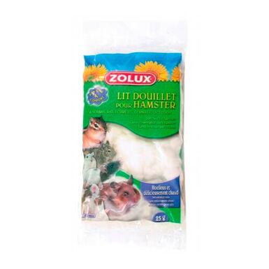 Leito Zolux branco para hamster 25 g